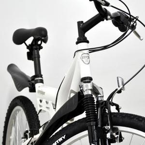 【ANIMATOアニマート】 マウンテンバイク SANDPIPER Wサス 26インチ SHIMANO18段変速|sailaijidanxia|05