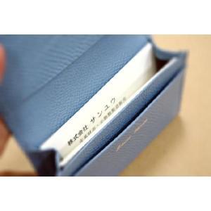 小さい牛革名刺入(カードケース,カード入れ)/レディース メンズ|saint|06