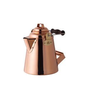 たっぷりのお湯を素早く沸かす 風合い豊かな銅製のケトル 使い込むほどに風合いが増す人気のケトル。 銅...