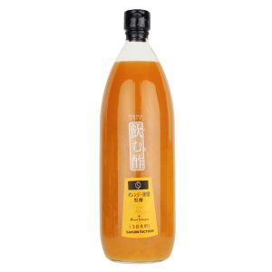 セゾンファクトリー 飲む酢 オレンジ+蜜柑(みかん)黒酢 1000ml|saisonfactory