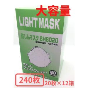 【大容量】使い捨て防塵マスク クレトイシ SH6020-DS2 240枚入り 20枚入り×12箱 |saitama-yozai
