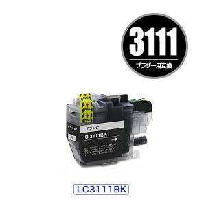 LC3111BK ブラック 単品 ブラザー 互換インク インクカートリッジ (LC3111 DCP-...