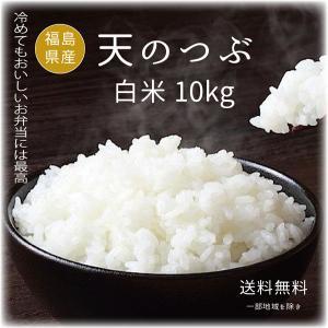 新米 米 お米10kg 天のつぶ白米10kg(5kgx2袋) 令和元年福島県産