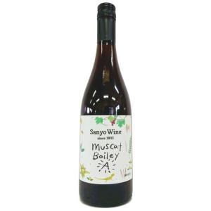 サンヨーワイン マスカットべーリーA 17/18 750ml三養醸造 (U-1)|saitousaketen34