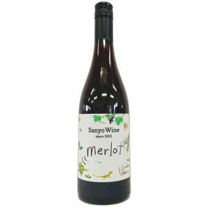 サンヨーワイン メルロー 17/18 750ml三養醸造 (W-3)|saitousaketen34