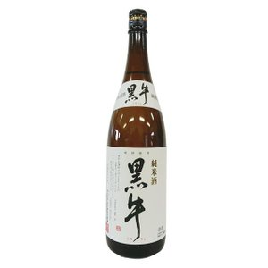 黒牛 純米酒 1800ml|saitousaketen34