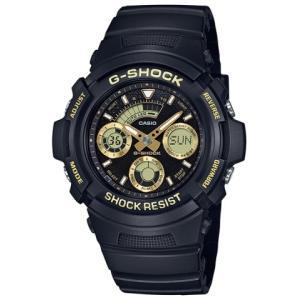 G-SHOCK ブラック×ゴールド コンパクトアナデジモデル AW-591GBX-1A9JF saitoutokeiten