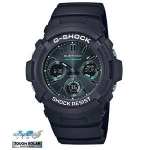 G-SHOCK Black and Green series AWG-M100SMG-1AJF saitoutokeiten