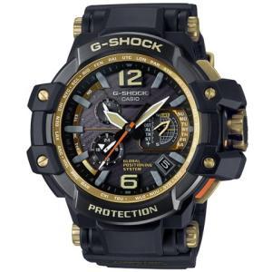 G-SHOCK Master of G GRAVITY MASTER GPSハイブリッド電波 ブラック×ゴールド GPW-1000GB-1AJF saitoutokeiten