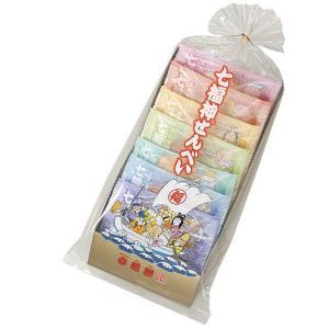 七福神せんべい[袋入・7種×1枚 計7枚]|saiwai