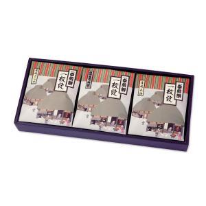 厚焼きおかき【一枚焼】[箱入/3種x3枚計9枚] saiwai