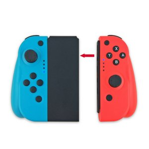 【接続方法】Switchの「持ちかた/順番を変える」という画面で 1:左コントローラーの「キャプチャ...