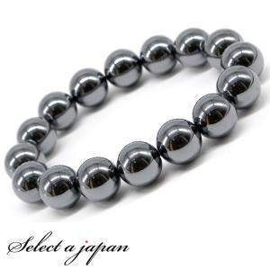 5fe02bc9f1 ヒートテック ヘマタイト ブレスレット 12mm パワーストーン ブレスレット メンズ 天然石 ブレスレット 数珠