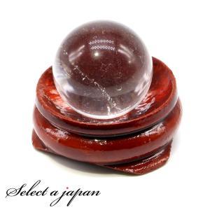 水晶玉 台座付き パワーストーン 天然石 水晶 本水晶