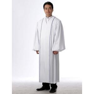 牧師ガウン G-B01-010 牧師用ガウン 教会衣装|sajp