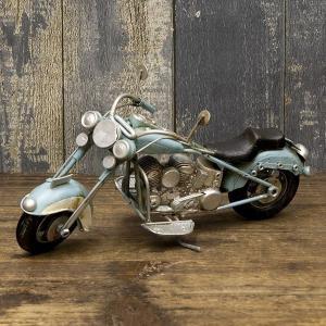 ヴィンテージバイク ブリキおもちゃ バイク  アメリカ雑貨 店舗 オブジェ 世田谷ベース ガレージ雑貨 ハーレー/Old バイク