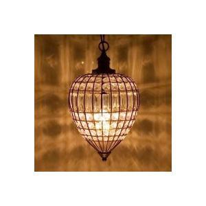 照明器具 1灯 シャンデリア アンティーク /ドロップ ブラウン|sakae-daikyo