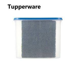 Tupperware タッパーウェア スーパーオーバル#4・ブルー  Tupperware Brands Modular Mates Oval アウトレット|sakae-daikyo