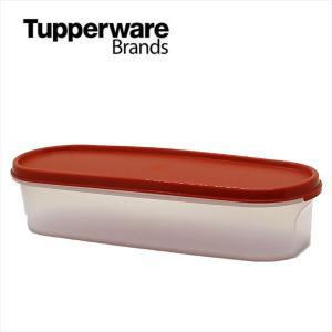 Tupperware タッパーウェア スーパーオーバル#1・レッド  Tupperware Brands Modular Mates Oval red アウトレット|sakae-daikyo