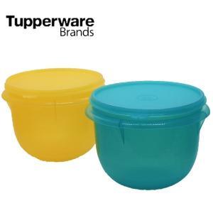 Tupperware タッパーウェア Santa Fe Bowl 2pc Set color: グリーン、イエロー 限定 アウトレット|sakae-daikyo
