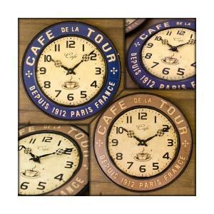 掛時計 壁掛け時計 ウォールクロック アンティーク ヴィンテージ アメリカ雑貨 おしゃれ / レジェクション カフェ ツアー sakae-daikyo