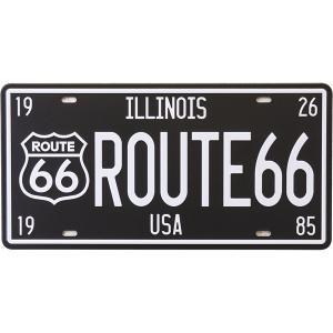 【メール便対応可】ブリキ看板 アンティーク[HR66]  ROUTE66 サインプレート アメリカ雑貨   ティンサイン ライセンスプレート 世田谷ベース ガレージグッズ|sakae-daikyo