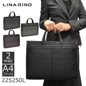 ビジネスバッグ レディース メンズ ビジネスカバン リクルートバッグ ショルダー 黒 LINA GINO リナジーノ 出張 旅行 ホワイトデー|sakaeshop