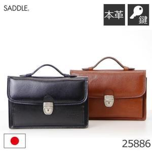 セカンドバッグ メンズ レザー 本革 牛革 ポーチ 日本製 SADDLE サドル フォーマルバッグ 黒 本革 キャッシュレス ポイント還元|sakaeshop