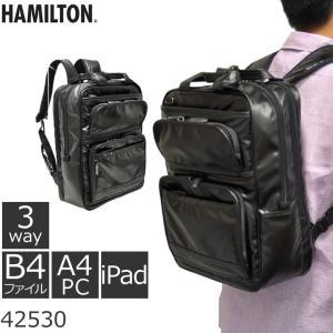 ビジネスバッグ メンズ 3wayバッグ 3wayリュック 通勤 ビジネス 人気 ブランド HAMILTON ハミルトン キャッシュレス ポイント還元|sakaeshop