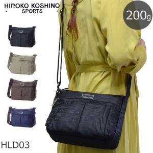 HIROKO KOSHINO SPORTS ヒロココシノスポーツ ショルダーバッグ 斜めがけ レディース ショルダーバック キャッシュレス ポイント還元|sakaeshop