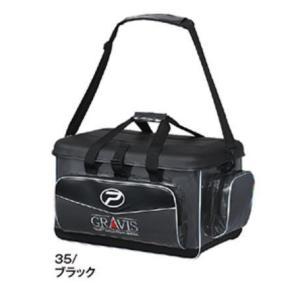 プロックス(PROX) グラヴィス磯バッグ35リットル ブラック PX69435K 磯バック|sakai11101