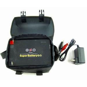 スーパーバッテリー プラマイ 充電器付き 12V/19AH sakai11101