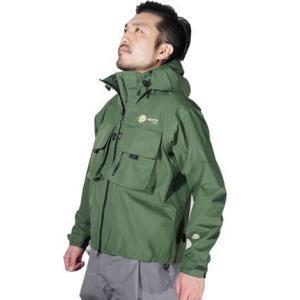 20%オフ!リアス(Rearth) SW WBF ウェーディングジャケット FRS-9000 オリーブLサイズ 透湿ジャケット sakai11101