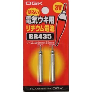 定型ライト便!OGK 電気ウキ用 ピン形リチウム電池 BR435 sakai11101