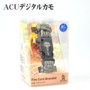 (4F)ブッシュクラフト 720080・ファイヤーコードブレスレット(ACUデジタルカモ) sakaiya