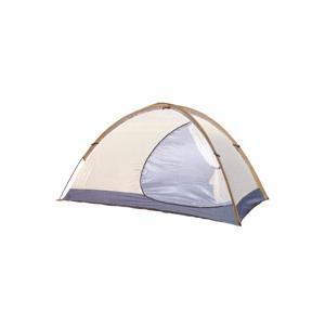トレックライズはテントの広いパネルに半月型の大きな入り口を設けた軽量3シーズンモデル。 余裕有る開放...