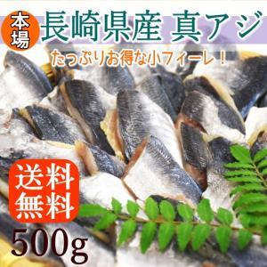 アジ 真アジ 腹骨取り 本場長崎県産 25gサイズが500g 調理しやすくて食べやすい お弁当にもぴったり あじ 鯵 海鮮