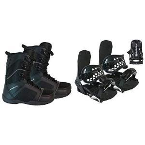 Symbolic Custom-Flow Black Snowboard Bindings & Bo...