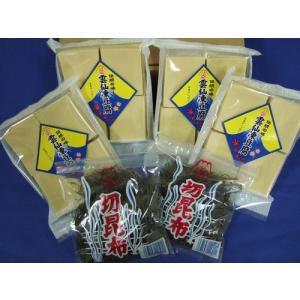 凍豆腐・切昆布セット|sakatareitou