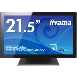 iiyama 在庫僅少 全国送料無料 21.5型ワイドタッチパネル液晶ディスプレイ ProLite T2234MSC-B6X (IPS/フルHD/D-SUB T2234MSC-B6X|sakatsu-store