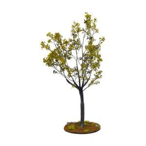 晩夏の樹木 21cm前後 ベース付き 1本 :アクセサリーズフォーランドスケープ 塗装済み完成品 1/35〜48 特製004|sakatsu