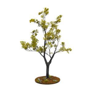 晩夏の樹木 21cm前後 ベース付き 1本 :アクセサリーズフォーランドスケープ 塗装済み完成品 1/35〜48 特製005|sakatsu