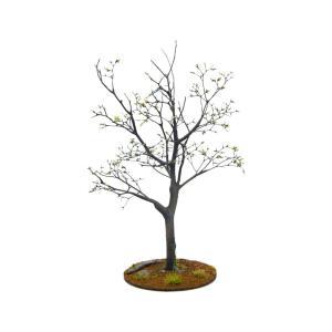 初秋の樹木 19cm前後 ベース付き 1本 :アクセサリーズフォーランドスケープ 塗装済み完成品 1/35〜48 特製007|sakatsu