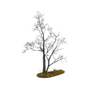 枯れ木の風景 春 19cm前後 ベース付き 1本 :アクセサリーズフォーランドスケープ 塗装済み完成品 1/35〜48 OWB80001|sakatsu