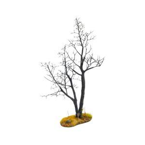 枯れ木の風景 秋 19cm前後 ベース付き 1本 :アクセサリーズフォーランドスケープ 塗装済み完成品 1/35〜48 OWB80002|sakatsu