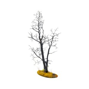 枯れ木の風景 秋 19cm前後 ベース付き 1本 :アクセサリーズフォーランドスケープ 塗装済み完成品 1/35〜48 OWB80002 sakatsu 03
