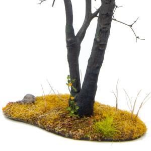 枯れ木の風景 秋 19cm前後 ベース付き 1本 :アクセサリーズフォーランドスケープ 塗装済み完成品 1/35〜48 OWB80002 sakatsu 04