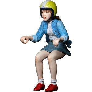 スクーター女子 :アトリエイット 未塗装キット 1/24スケール BK2401|sakatsu