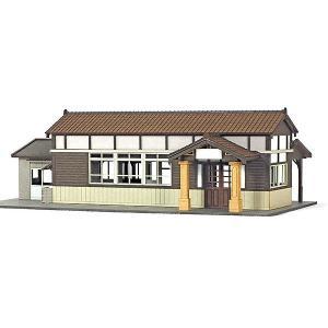 地方駅舎/木造駅舎 :あまぎモデリングイデア キット N(1/150) ACM-010|sakatsu