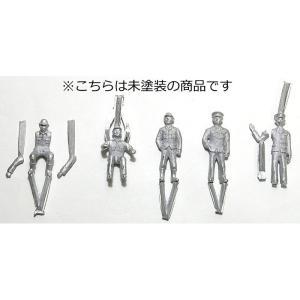 人形セットB【未塗装】 :アルモデル 未塗装キット O(1/45〜1/48) D5003 sakatsu